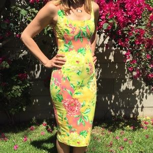 D&G Dresses - D&G Dolce&Gabbana Floral Pencil Dress